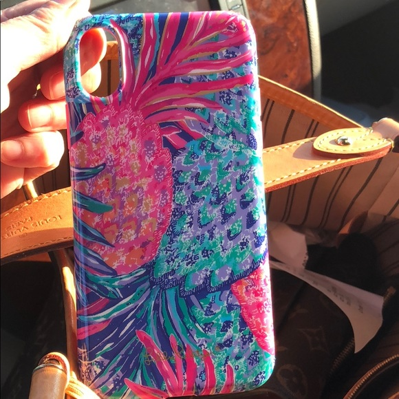 brand new 5b061 ec208 Lilly Pulitzer Apple iPhone X cell phone case.
